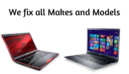We fix all Makes and Models of laptops - Westford Computer Services