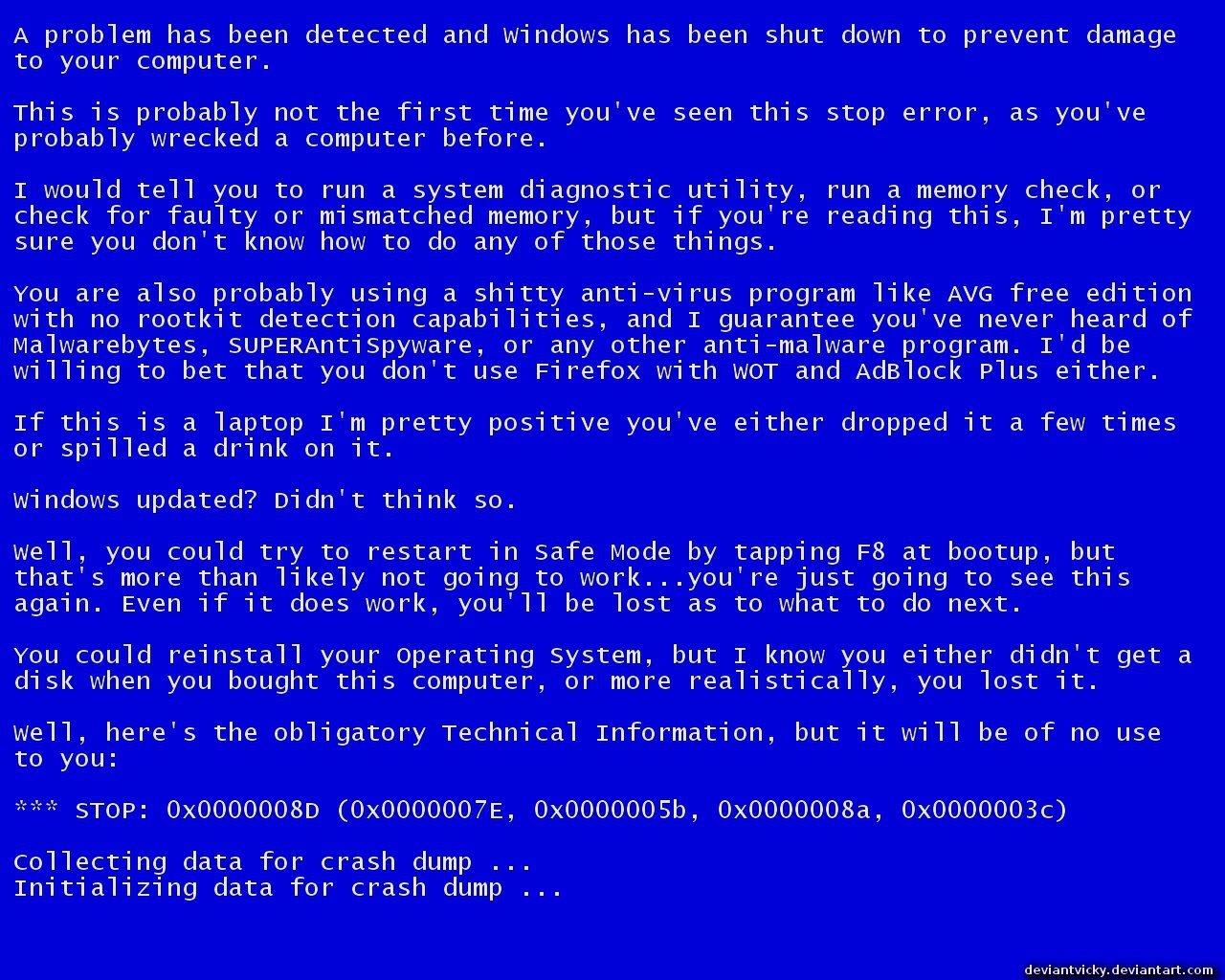 Синий и красный экран смерти Windows 8 и 10  что делать с