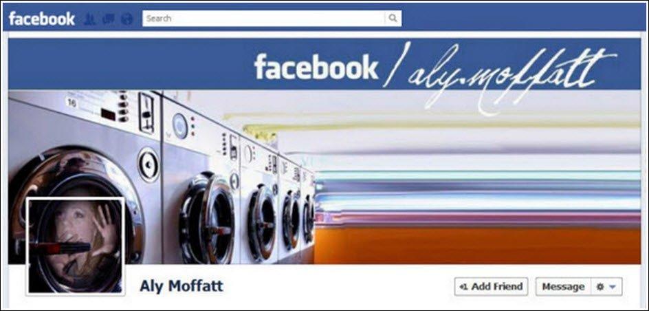 Incorporate your profile picture into your cover design