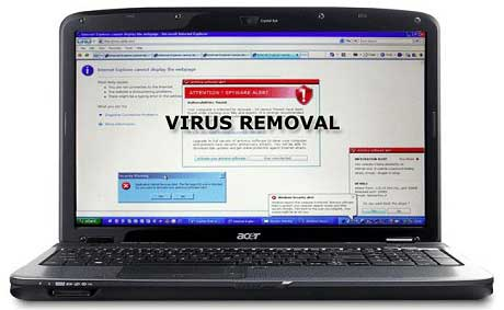 Laptop virus removal - Chelmsford MA