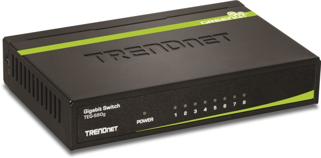 TRENDnet 8-Port Gigabit  Switch