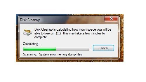 Disk Clean Windows 7