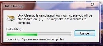 Disk Clean Windows 7 step 07